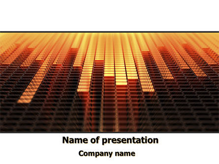 Digital Equalizer PowerPoint Template