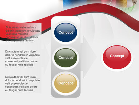 Needle And Threads PowerPoint Template Slide 11