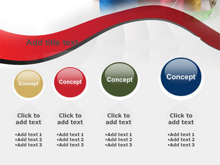Needle And Threads PowerPoint Template Slide 13