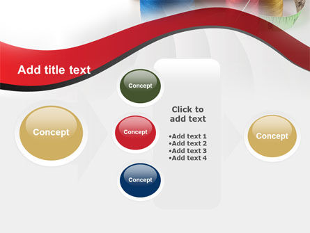 Needle And Threads PowerPoint Template Slide 17