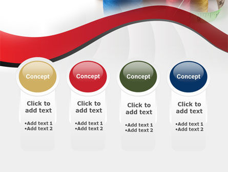 Needle And Threads PowerPoint Template Slide 5