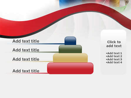 Needle And Threads PowerPoint Template Slide 8