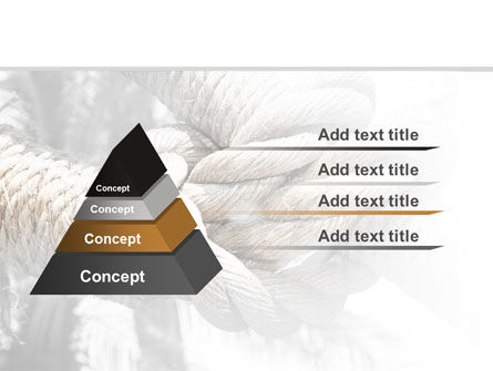 Fisherman's Bend Knot PowerPoint Template Slide 12