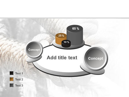 Fisherman's Bend Knot PowerPoint Template Slide 16
