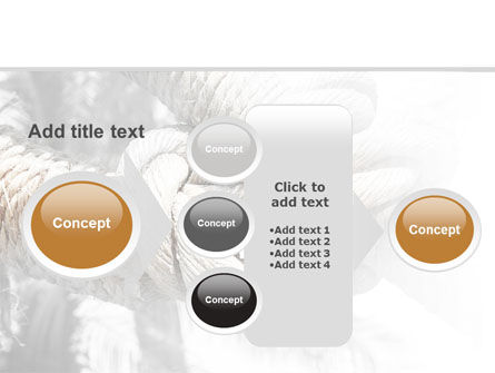 Fisherman's Bend Knot PowerPoint Template Slide 17