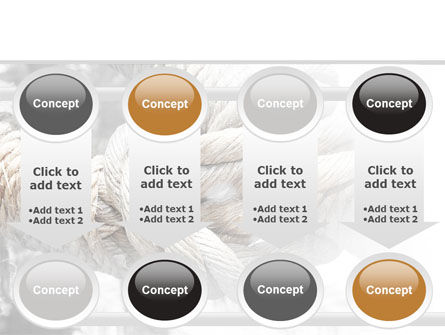 Fisherman's Bend Knot PowerPoint Template Slide 18