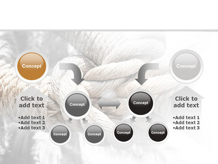 Fisherman's Bend Knot PowerPoint Template Slide 19