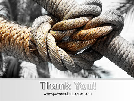Fisherman's Bend Knot PowerPoint Template Slide 20