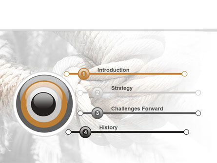 Fisherman's Bend Knot PowerPoint Template, Slide 3, 09534, Consulting — PoweredTemplate.com