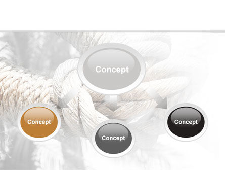 Fisherman's Bend Knot PowerPoint Template, Slide 4, 09534, Consulting — PoweredTemplate.com