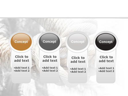 Fisherman's Bend Knot PowerPoint Template Slide 5