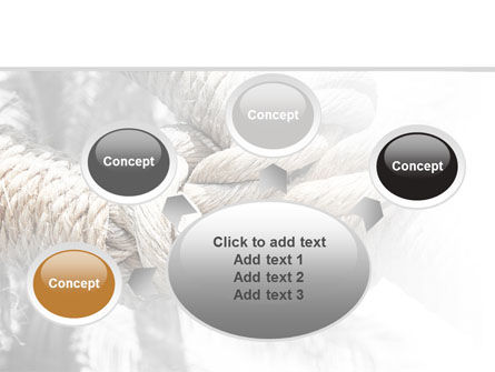 Fisherman's Bend Knot PowerPoint Template Slide 7