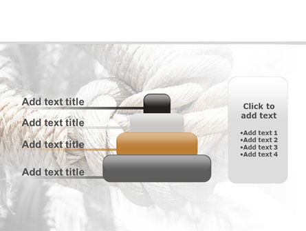 Fisherman's Bend Knot PowerPoint Template Slide 8