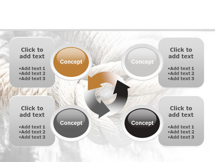 Fisherman's Bend Knot PowerPoint Template Slide 9
