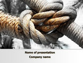 Consulting: Fisherman's Bend Knot PowerPoint Template #09534