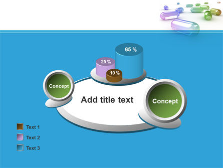 Blue Pilule PowerPoint Template Slide 16