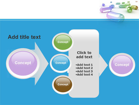 Blue Pilule PowerPoint Template Slide 17