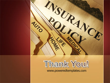 Insurance Policy PowerPoint Template Slide 20
