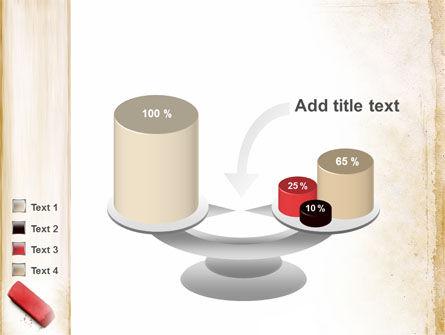 Eraser PowerPoint Template Slide 10
