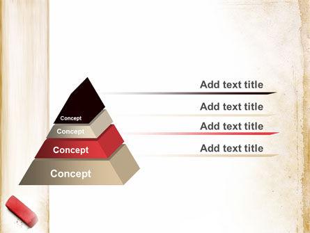 Eraser PowerPoint Template Slide 12