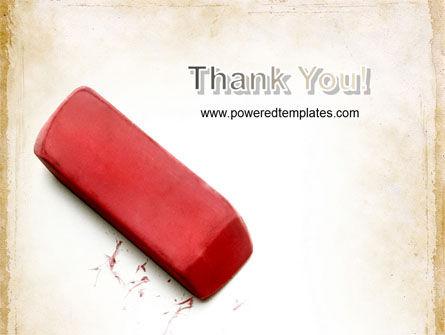 Eraser PowerPoint Template Slide 20