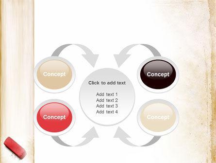 Eraser PowerPoint Template Slide 6