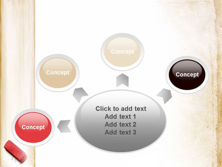 Eraser PowerPoint Template Slide 7