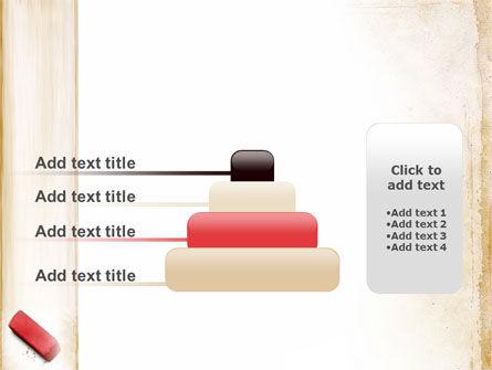 Eraser PowerPoint Template Slide 8