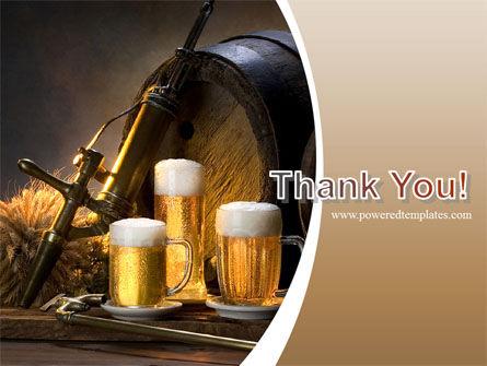 Beer Barrel PowerPoint Template Slide 20