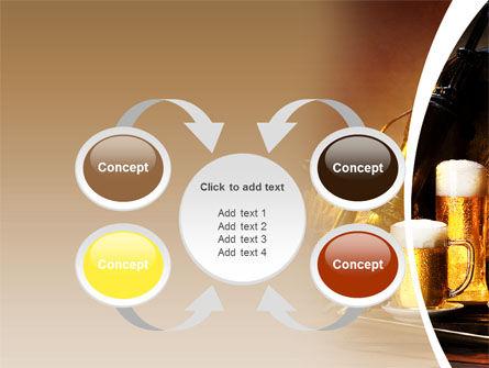 Beer Barrel PowerPoint Template Slide 6