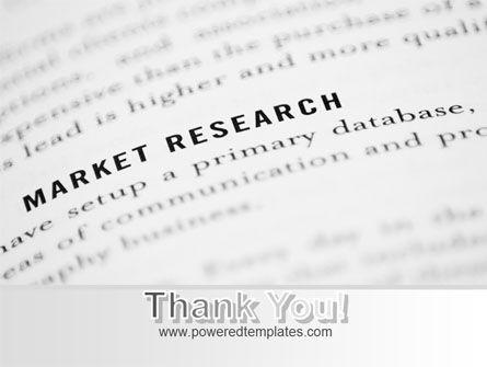 Marketing Study PowerPoint Template Slide 20