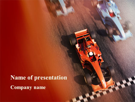 Formula One Championship PowerPoint Template, 09557, Sports — PoweredTemplate.com