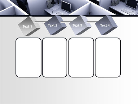 Office Space Cells PowerPoint Template Slide 18
