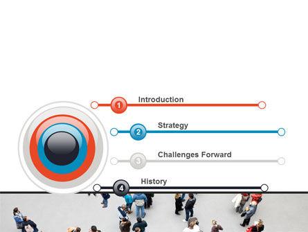 People Mob PowerPoint Template Slide 3