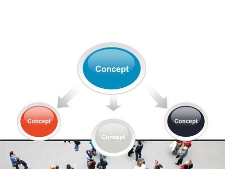 People Mob PowerPoint Template Slide 4
