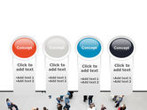 People Mob PowerPoint Template#5