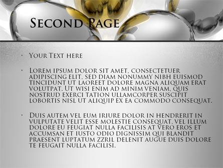 Golden Egg In Idea Nest PowerPoint Template, Slide 2, 09564, Consulting — PoweredTemplate.com