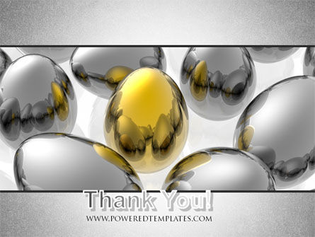 Golden Egg In Idea Nest PowerPoint Template Slide 20