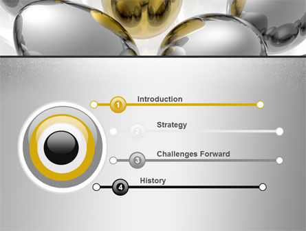 Golden Egg In Idea Nest PowerPoint Template Slide 3