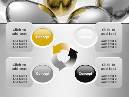 Golden Egg In Idea Nest PowerPoint Template Slide 9