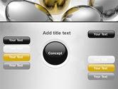 Golden Egg In Idea Nest PowerPoint Template#14