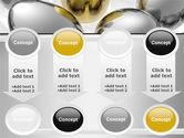 Golden Egg In Idea Nest PowerPoint Template#18