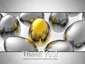 Golden Egg In Idea Nest PowerPoint Template#20