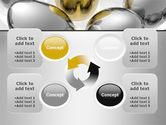 Golden Egg In Idea Nest PowerPoint Template#9