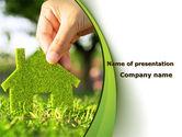 Real Estate: 温室建筑PowerPoint模板 #09565
