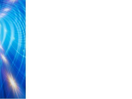 Tunnel Movement PowerPoint Template, Slide 3, 09567, Telecommunication — PoweredTemplate.com
