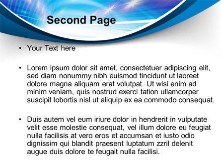 Tunnel Movement PowerPoint Template, Slide 2, 09567, Telecommunication — PoweredTemplate.com