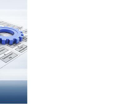 logistic Gears PowerPoint Template, Slide 3, 09568, Business — PoweredTemplate.com