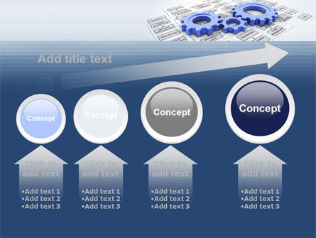 logistic Gears PowerPoint Template Slide 13