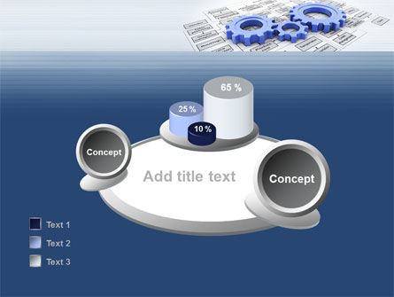 logistic Gears PowerPoint Template Slide 16